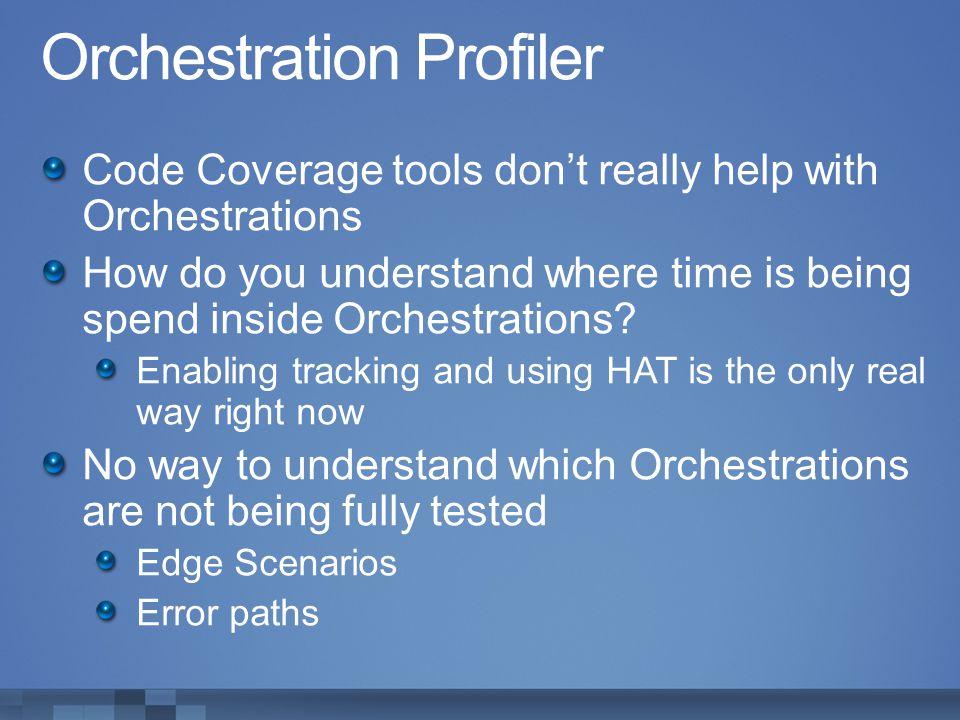 Orchestration Profiler