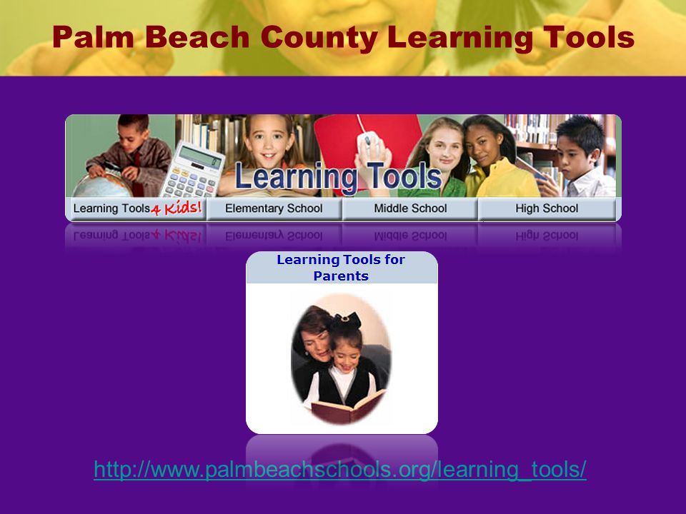 Palm Beach County Learning Tools