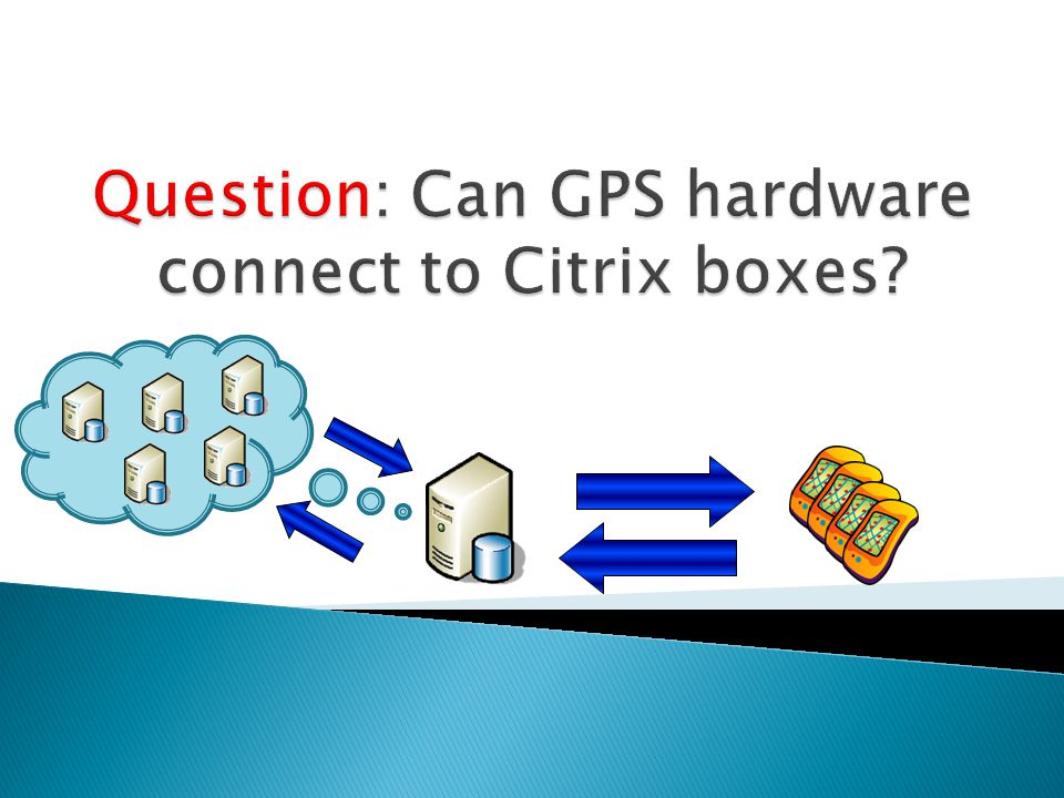 Question: Can GPS hardware connect to Citrix boxes