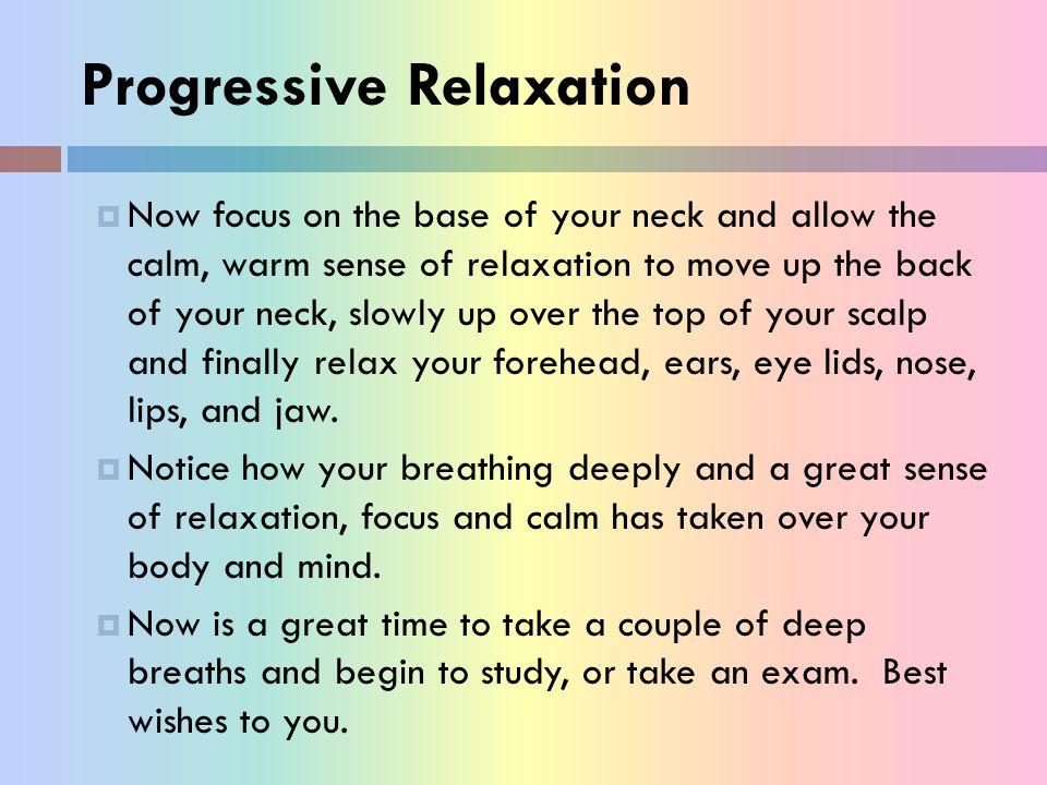 Progressive Relaxation