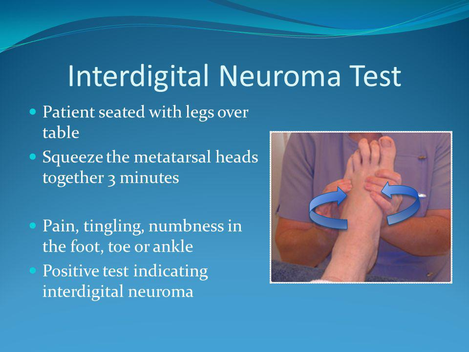 Interdigital Neuroma Test