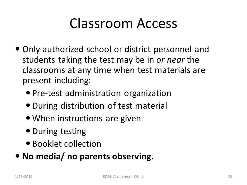 EDSS: Assessment Office