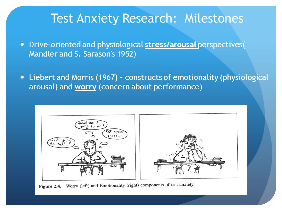 Test Anxiety Research: Milestones