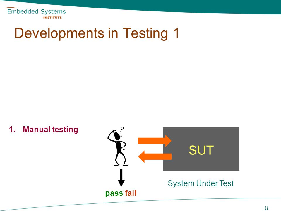 Developments in Testing 1