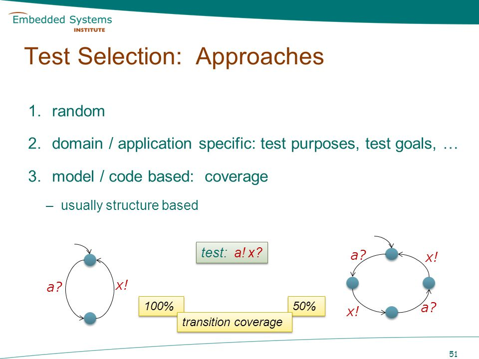 Test Selection: Approaches