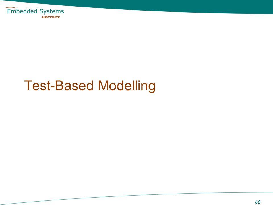 Test-Based Modelling