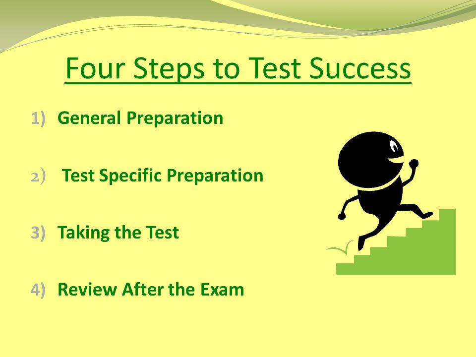 Four Steps to Test Success