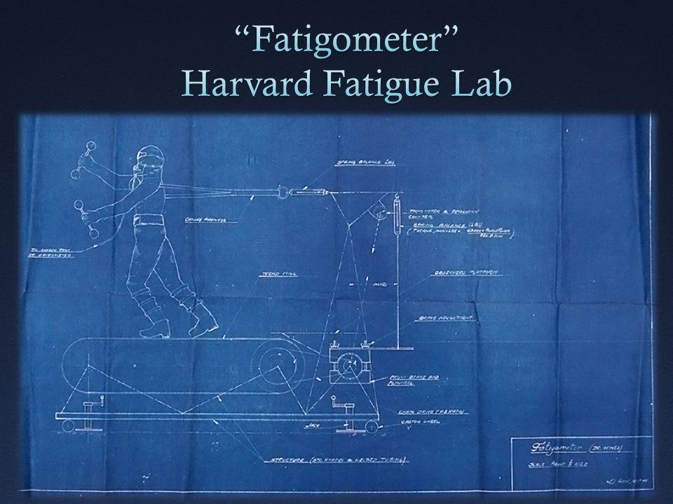 Fatigometer Harvard Fatigue Lab