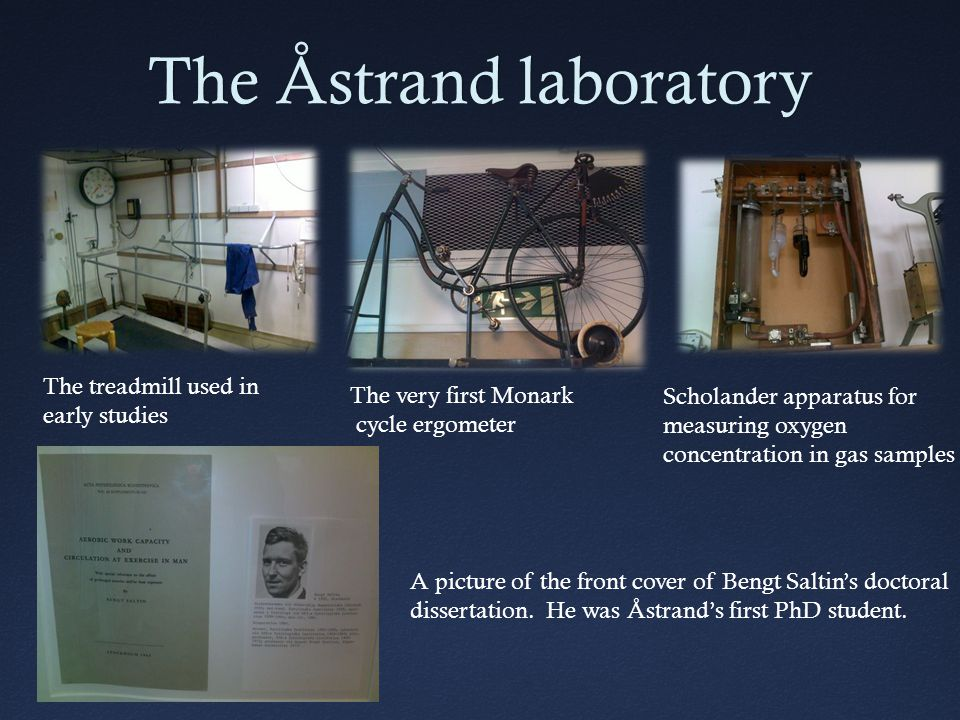 The Åstrand laboratory