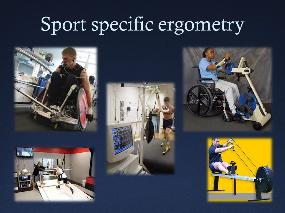 Sport specific ergometry