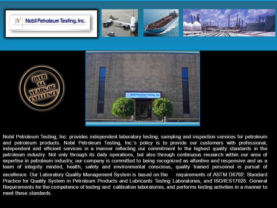 Nobil Petroleum Testing, Inc