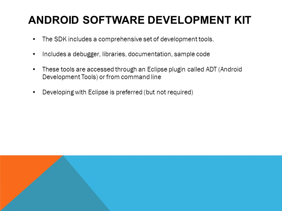 Android Software Development Kit