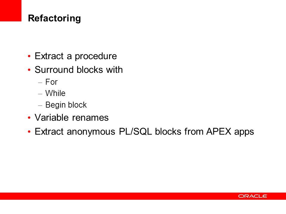 Extract anonymous PL/SQL blocks from APEX apps