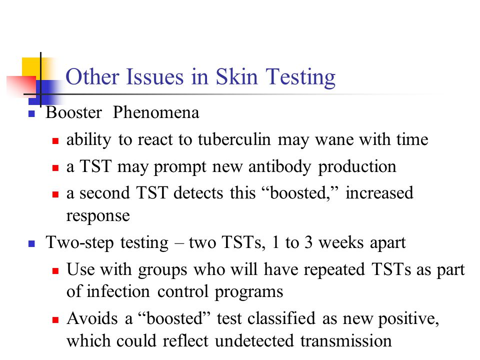 Other Issues in Skin Testing