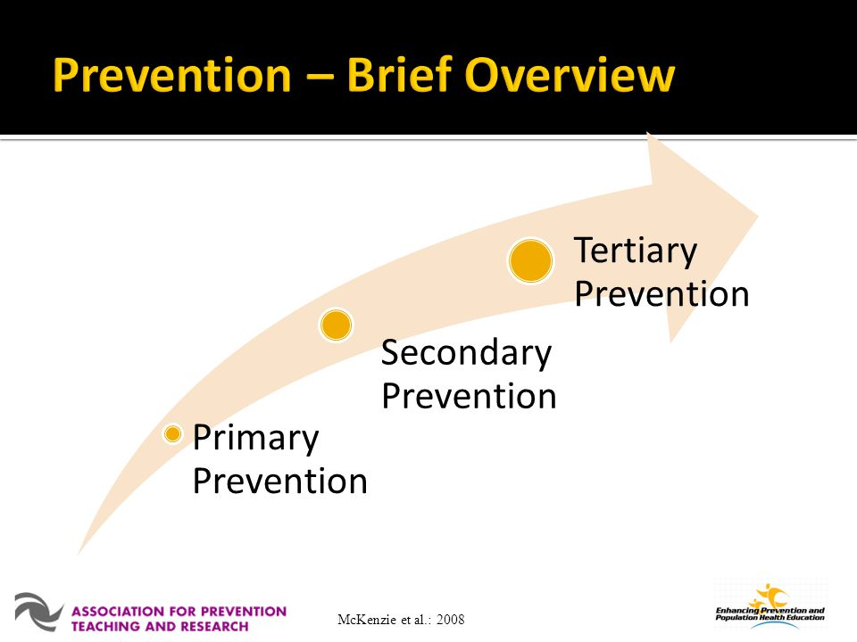 Prevention – Brief Overview