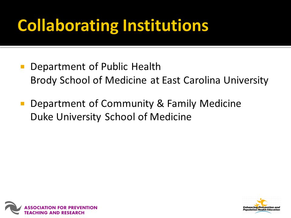 Collaborating Institutions