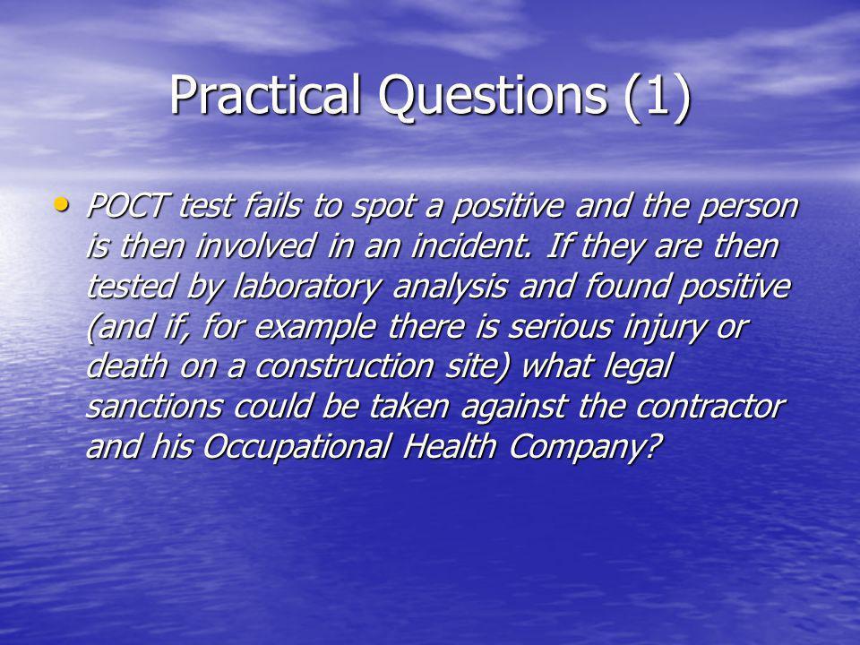 Practical Questions (1)
