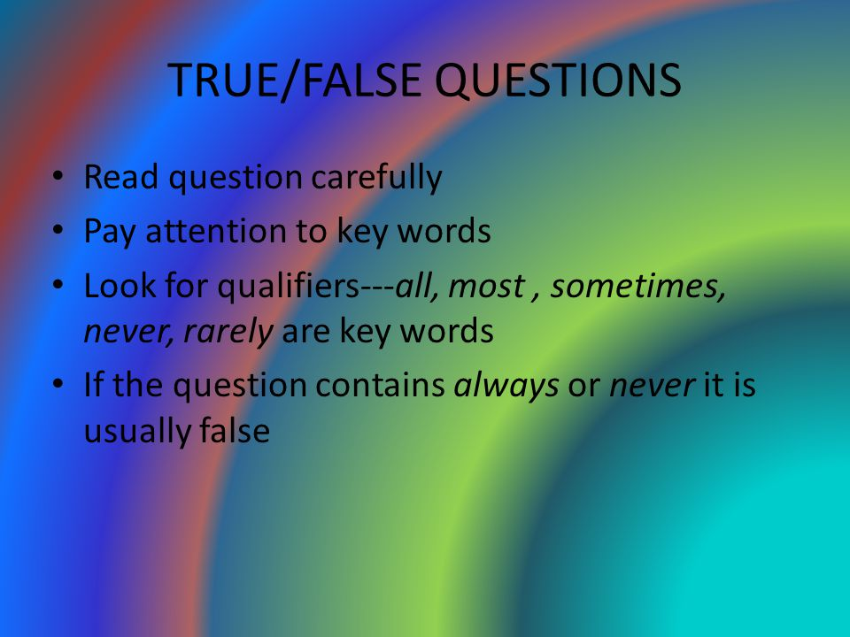 an outline of a critical essay is not usually needed. true false Guide to college-level tests while 'none of the above' is not usually the right choice true/false, and essay questions.