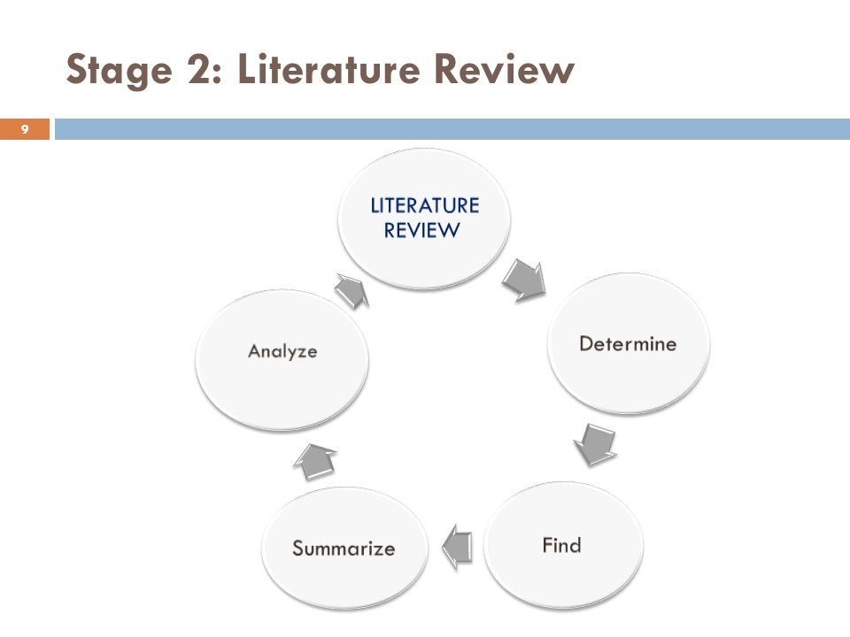 Stage 2: Literature Review