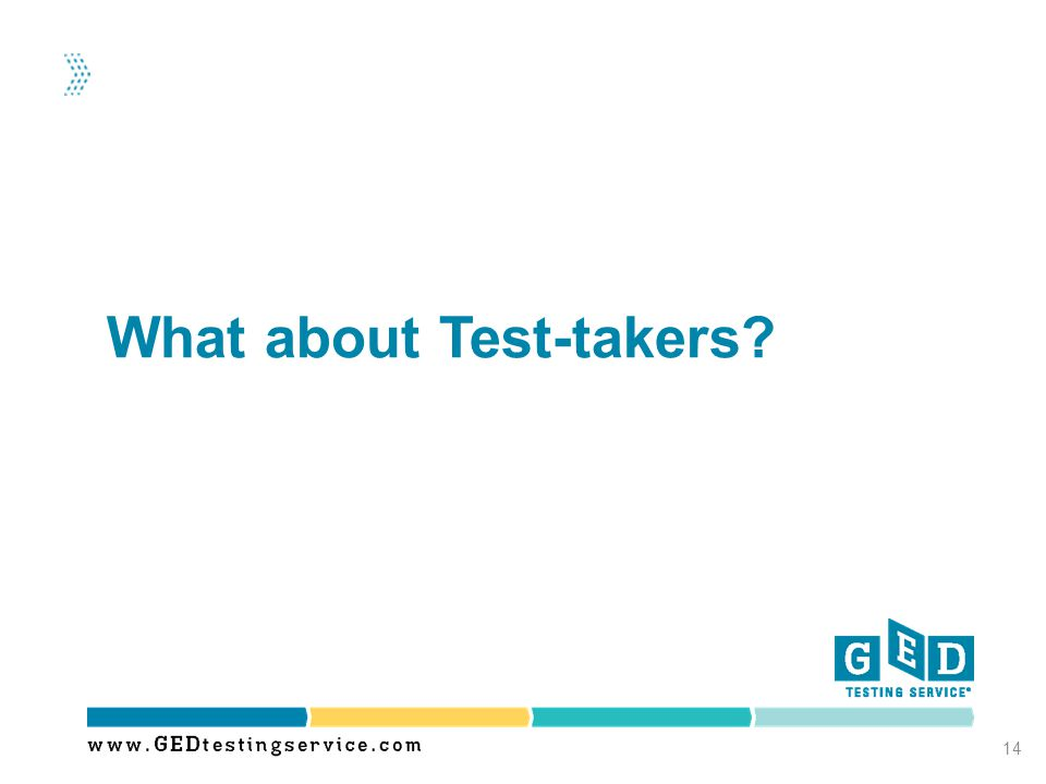 What about Test-takers