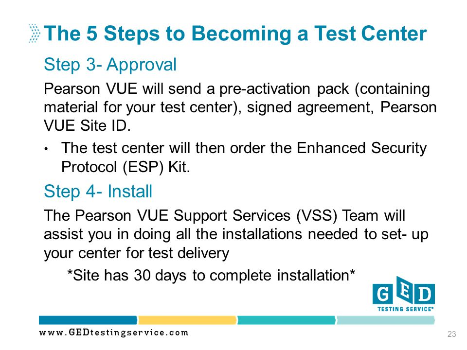 The 5 Steps to Becoming a Test Center