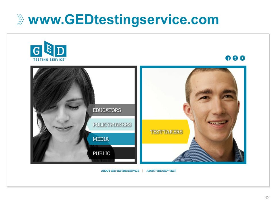 www.GEDtestingservice.com