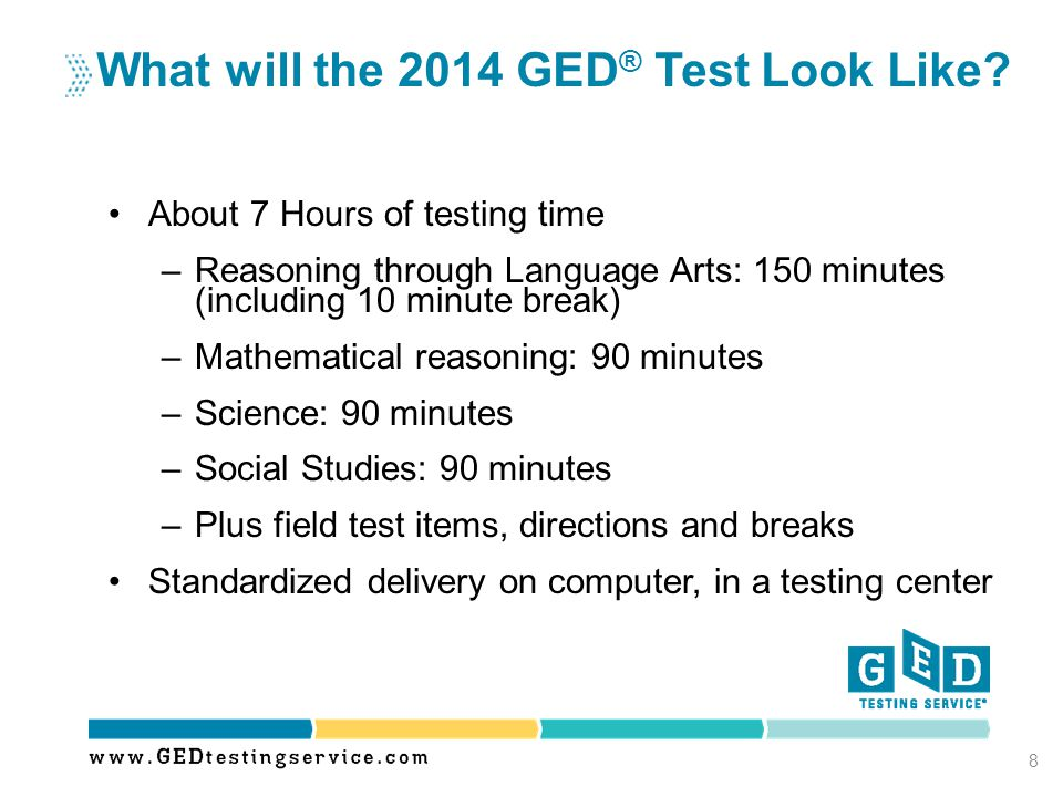 What will the 2014 GED® Test Look Like
