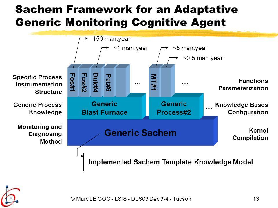 Sachem Framework for an Adaptative Generic Monitoring Cognitive Agent