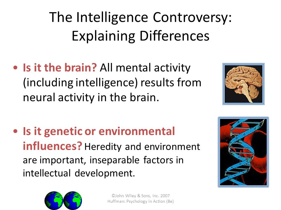 The Intelligence Controversy: Explaining Differences