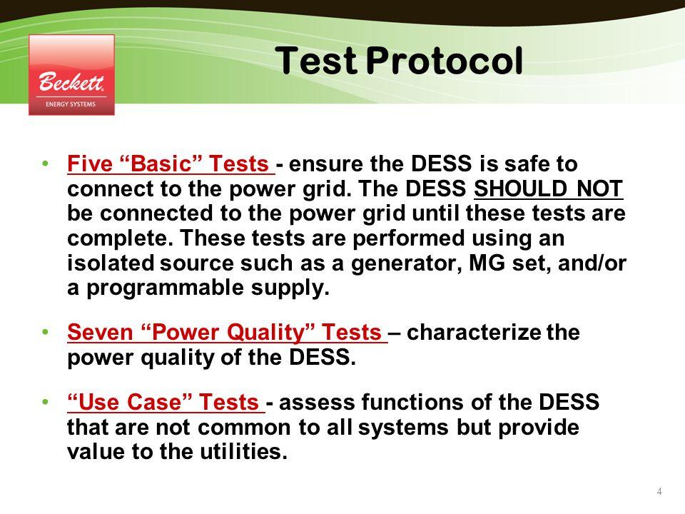 Test Protocol