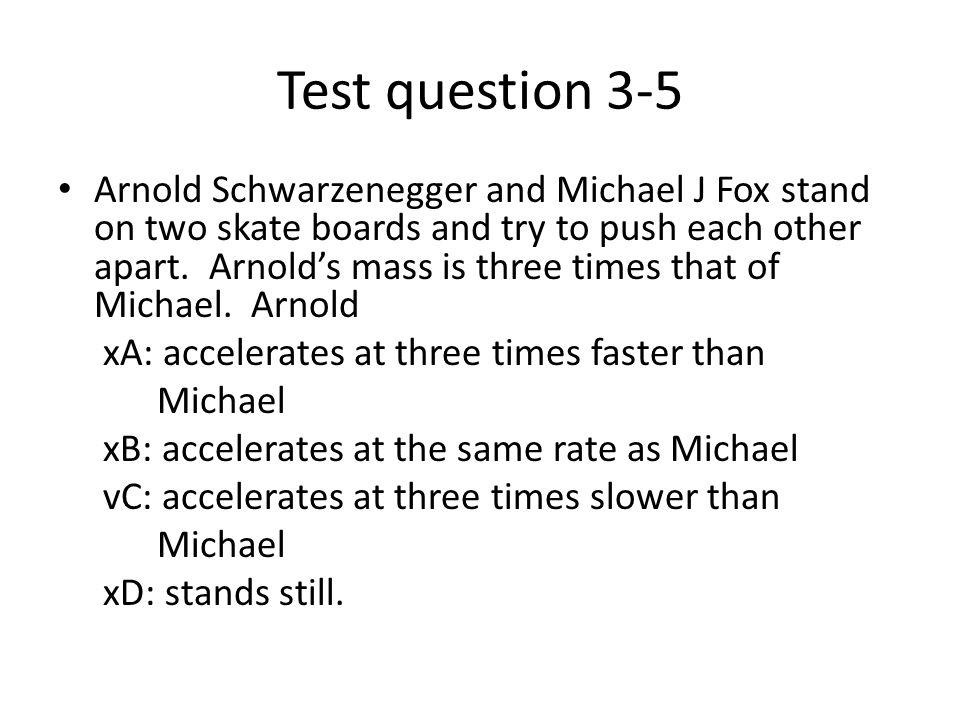 Test question 3-5
