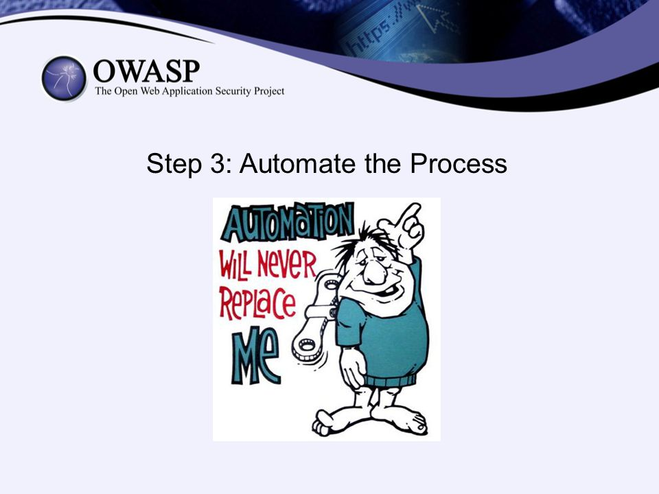 Step 3: Automate the Process