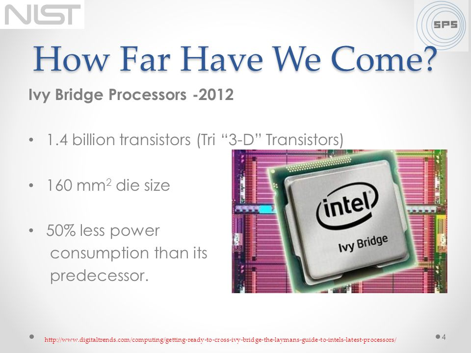 How Far Have We Come Ivy Bridge Processors -2012