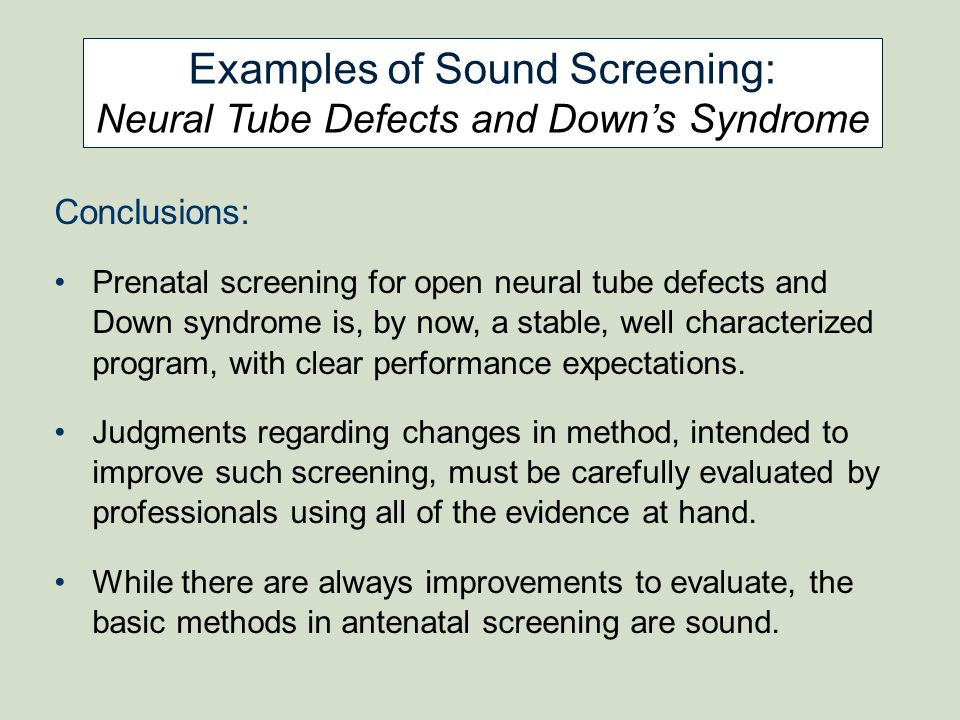 Examples of Sound Screening:
