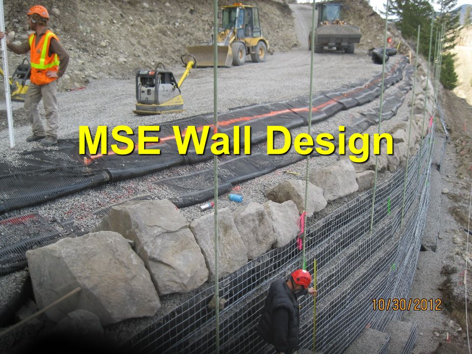 Mse Wall Design mse wall design. - ppt video online download