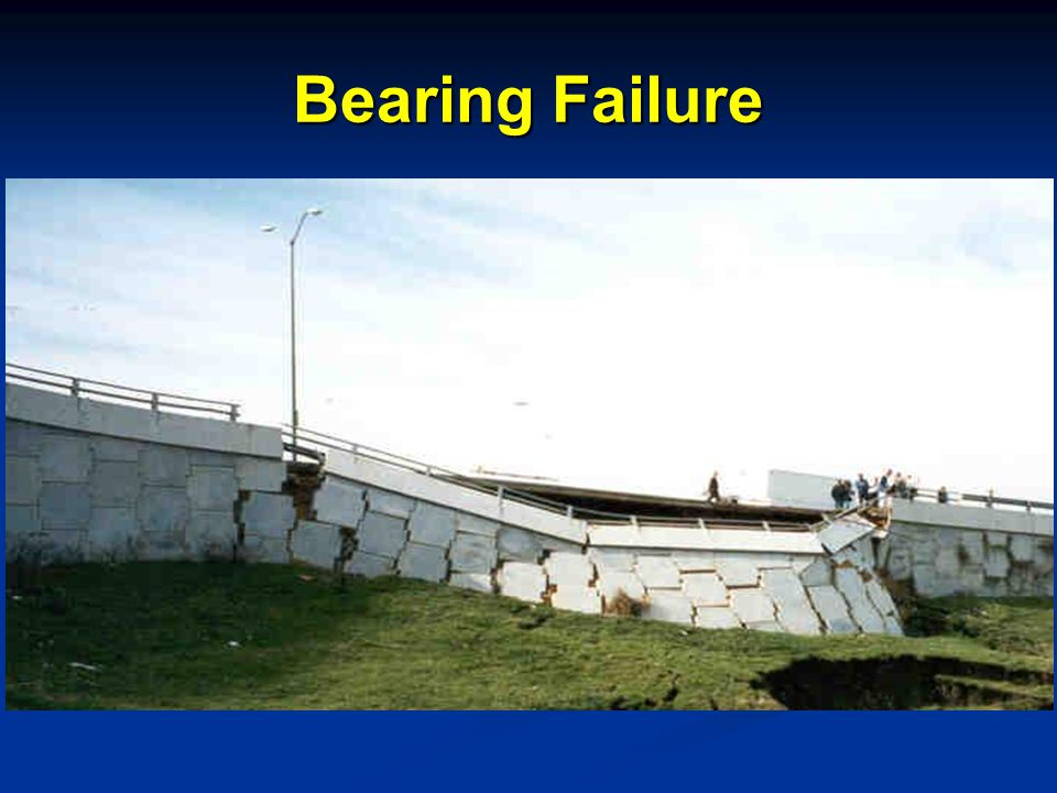 Bearing Failure Speaking Points MSE wall constructed on fill.