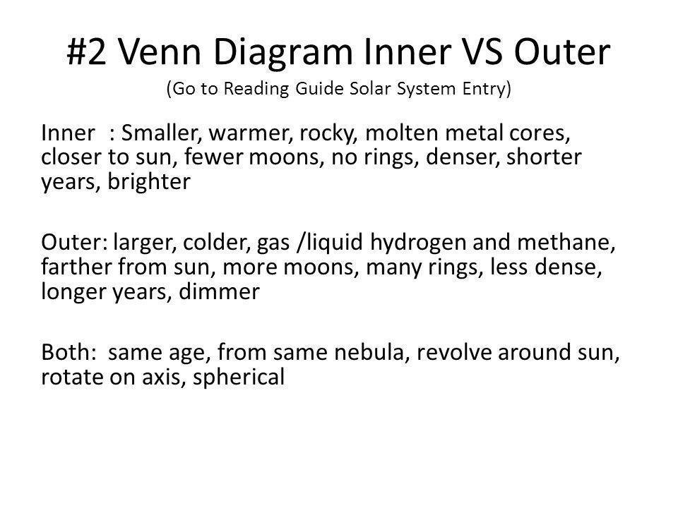 #2 Venn Diagram Inner VS Outer (Go to Reading Guide Solar System Entry)