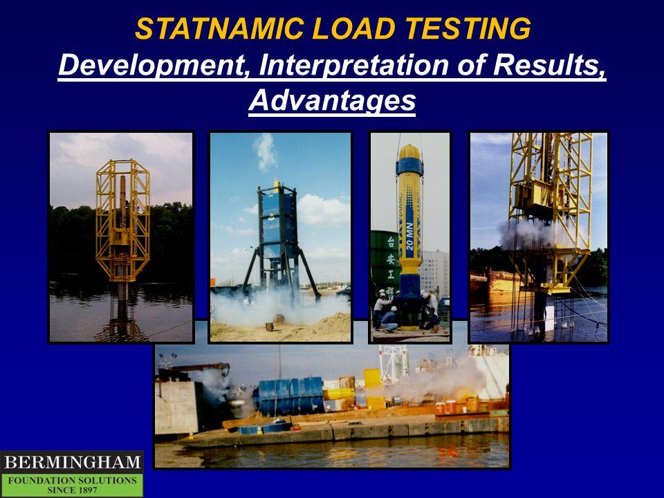 STATNAMIC LOAD TESTING
