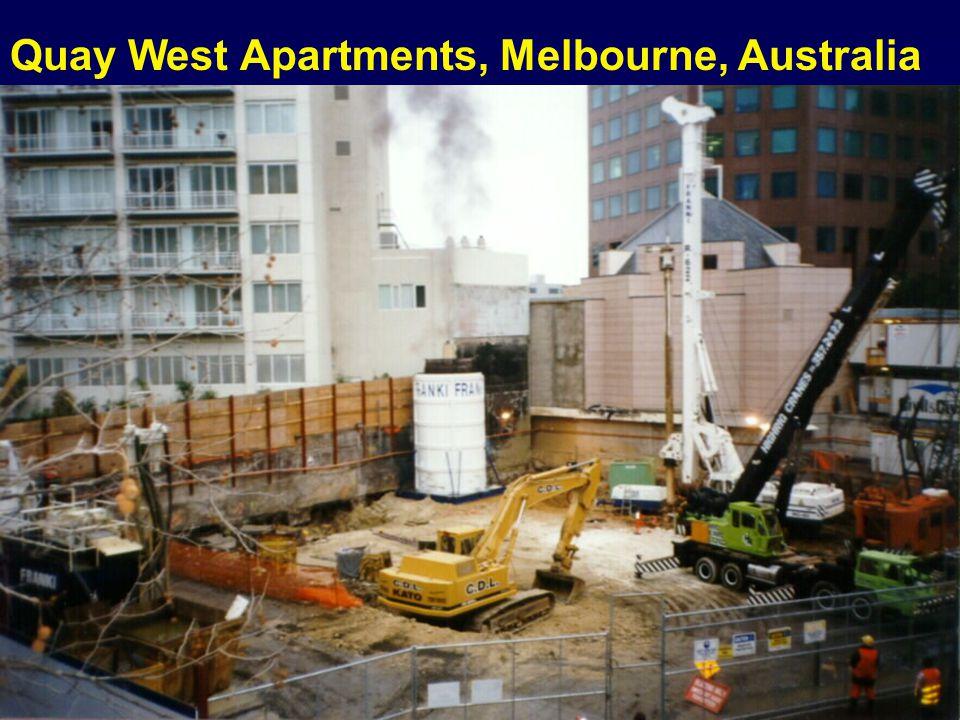 Quay West Apartments, Melbourne, Australia