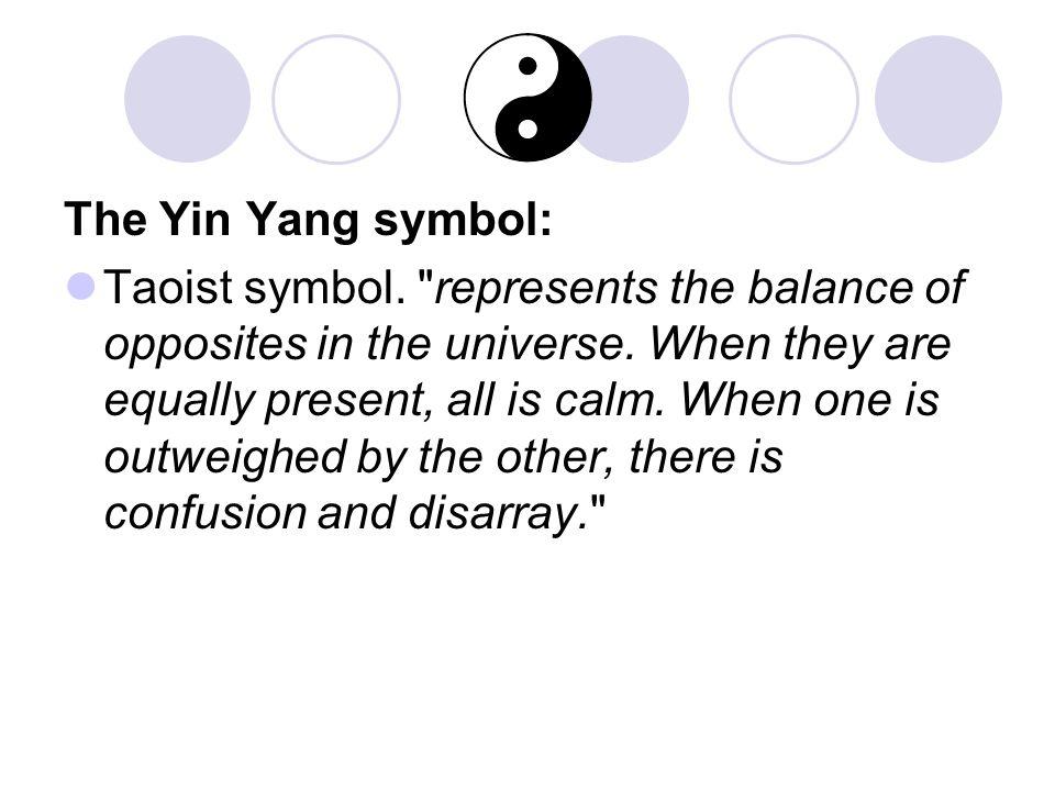 The Yin Yang symbol:
