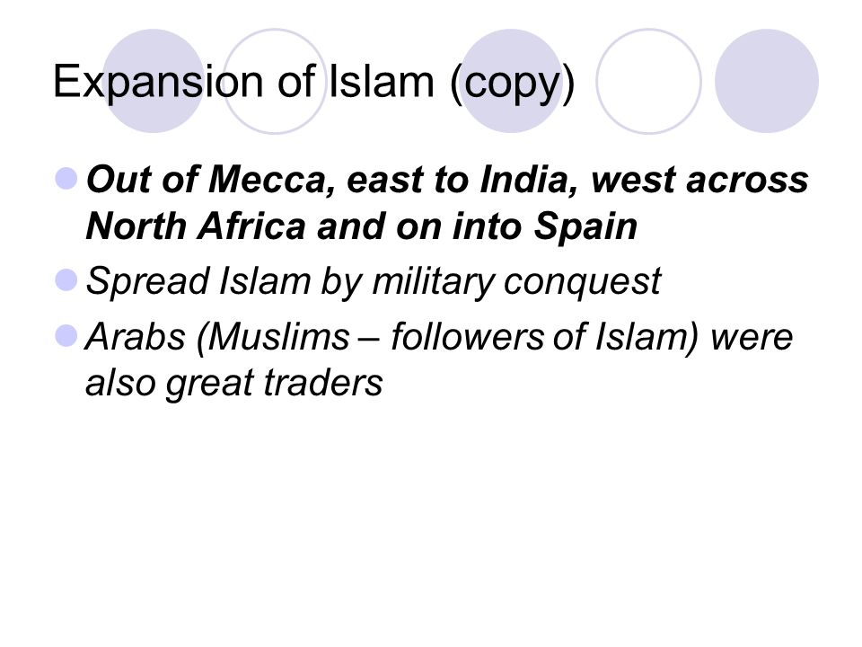 Expansion of Islam (copy)