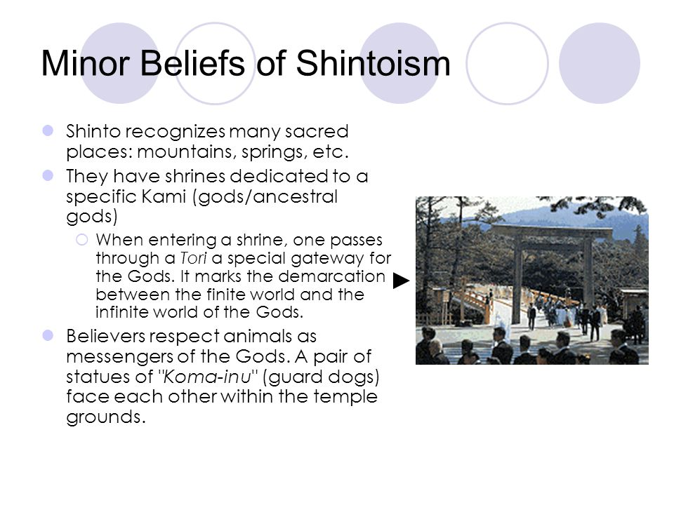 Minor Beliefs of Shintoism
