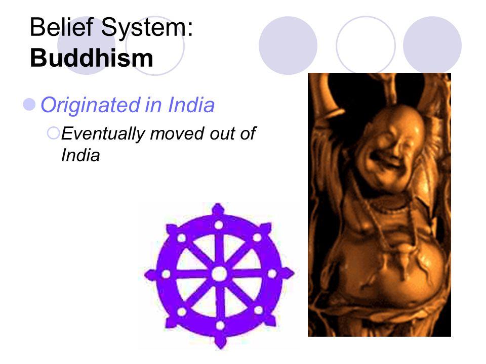 Belief System: Buddhism