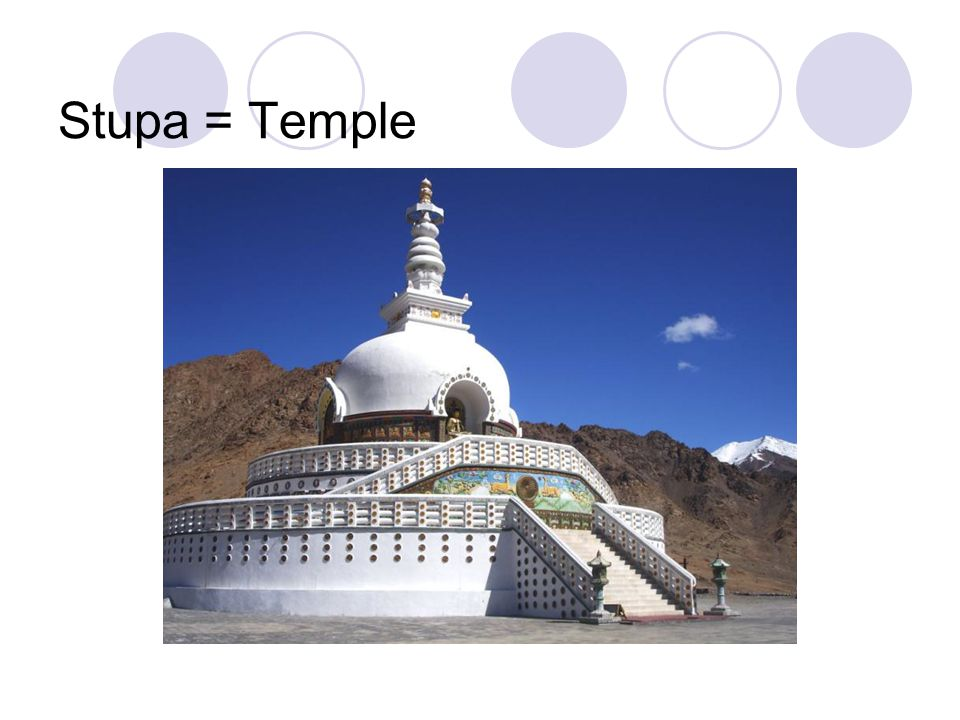 Stupa = Temple