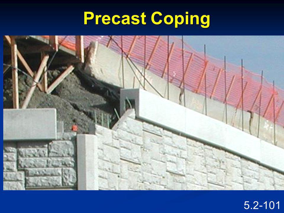 Precast Coping Speaking Points