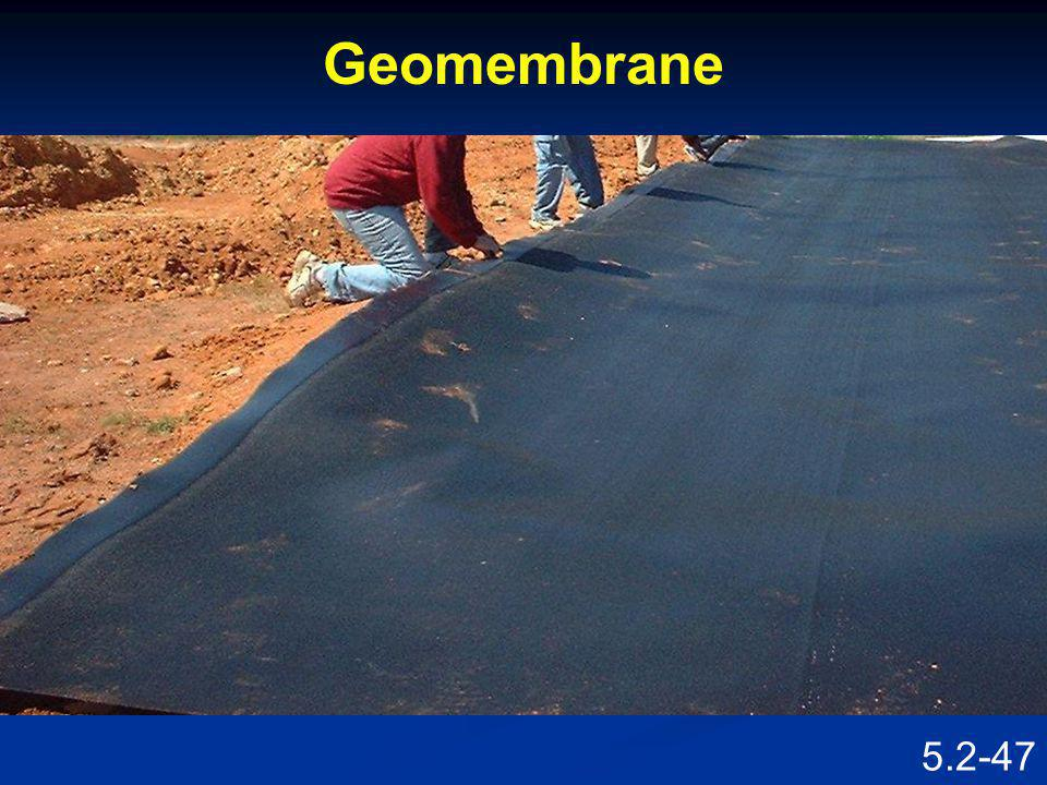 Geomembrane Speaking Points Installation of a geomembrane