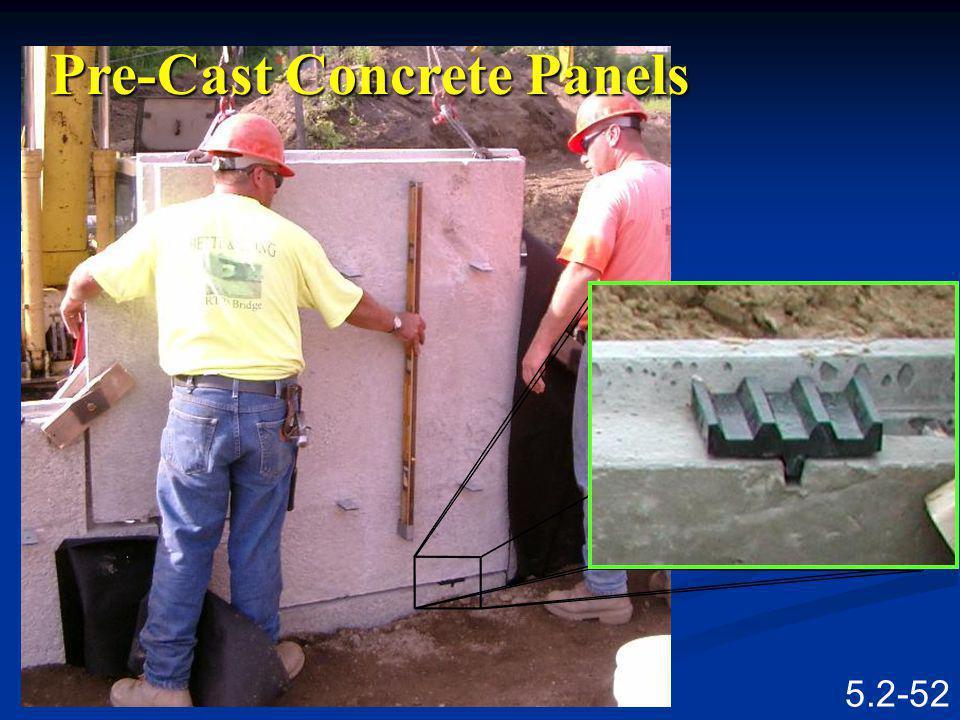 Pre-Cast Concrete Panels