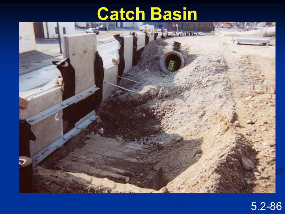 Catch Basin Speaking Points
