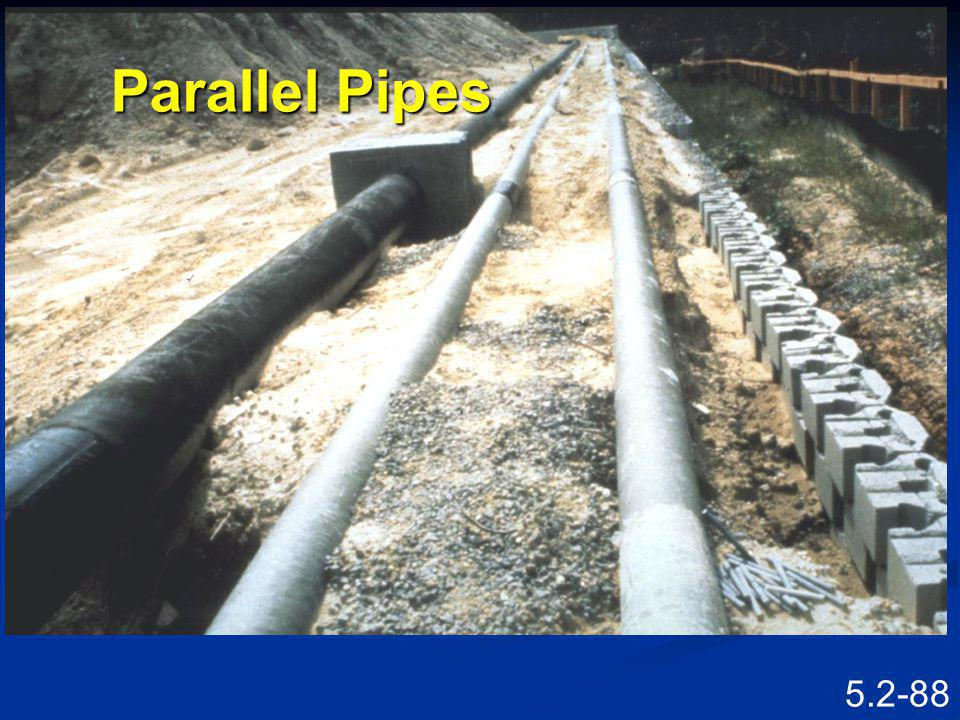 Parallel Pipes Speaking Points Parallel pipes behind MBW.