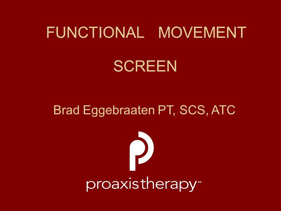 Brad Eggebraaten PT, SCS, ATC